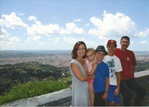 La nostra famiglia! Fiesole 2010