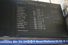 Alla Stazione: Helpful Italian words for train travelers