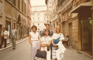Stacy in Roma 1984