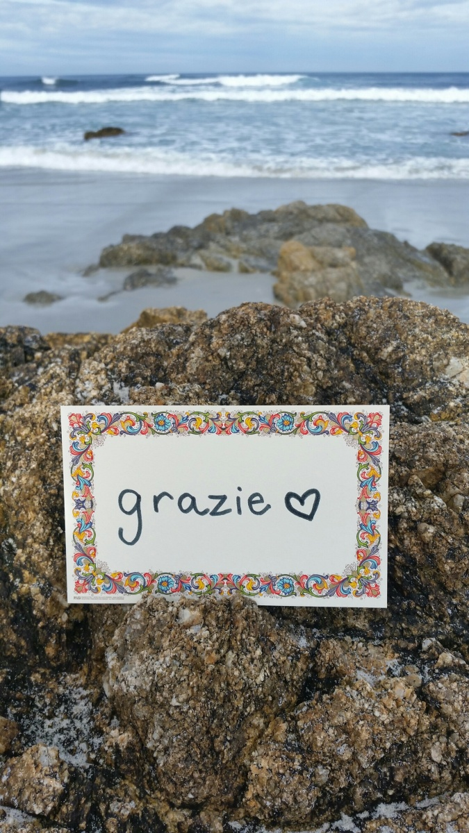 Grazie and more: saying thank you in Italian