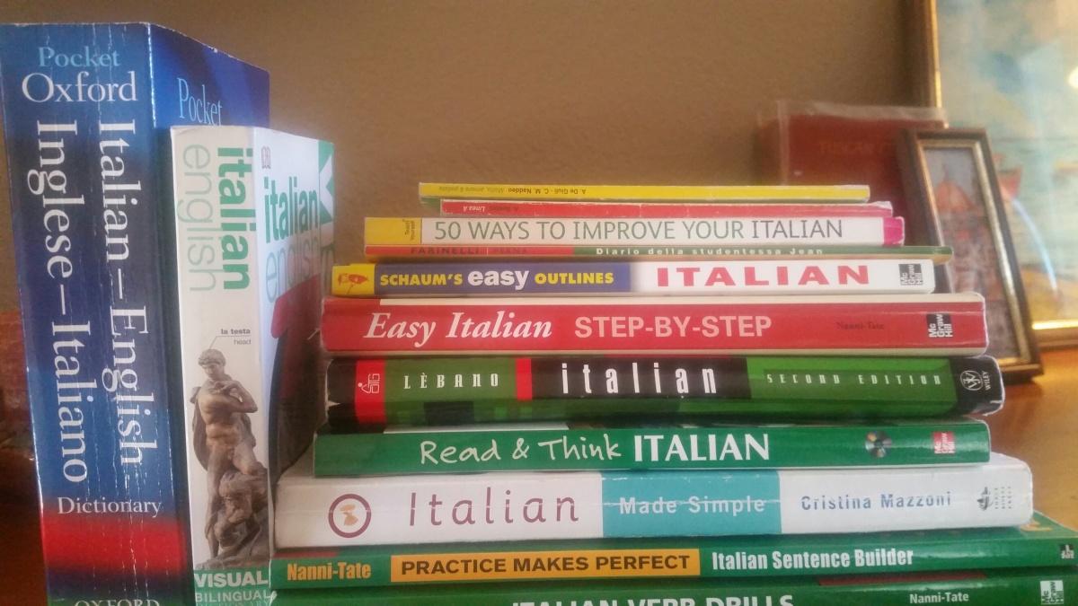 Questa settimana in italiano: i miei compiti