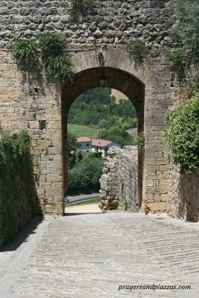 Through the MedievalWall