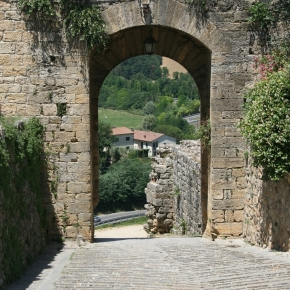 Through the Medieval Wall
