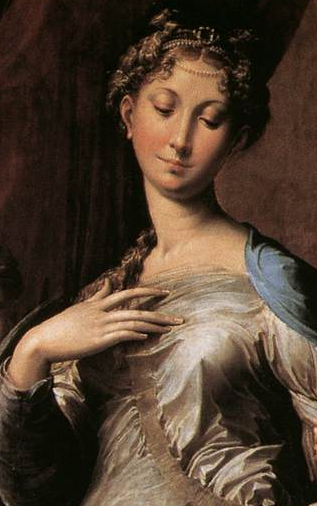 Parmigianino_Madonna_Long_Neck_-_Detail