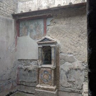 A small home altar
