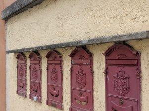 Mailboxes in Castel Gandolfo